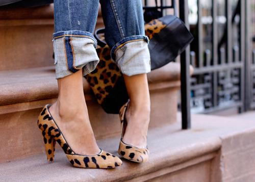 Jeans e animalier