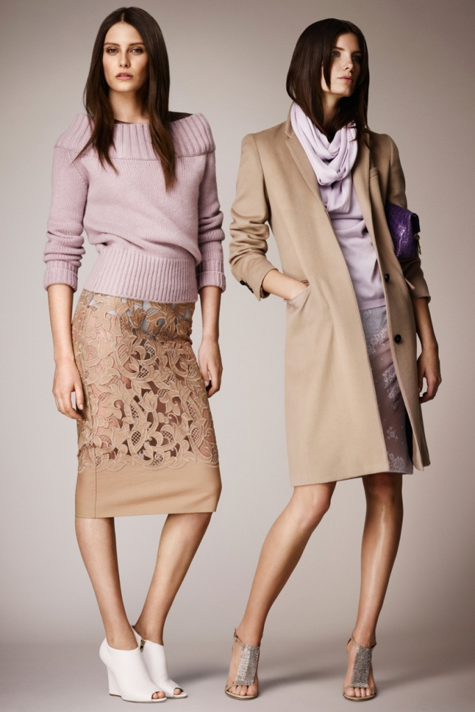 Burberry Prorsum, resort 2014