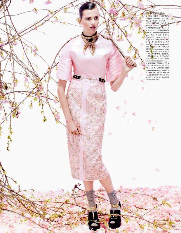 Bette Franke by Sharif Hamza, Vogue Giappone Agosto 2013