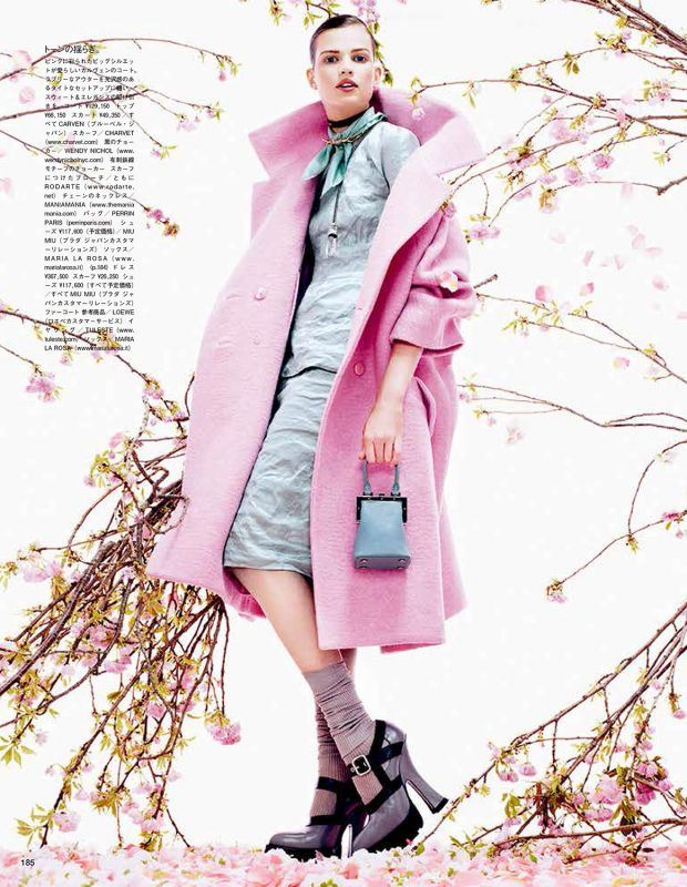 Bette Franke by Sharif Hamza,Vogue Giappone Agosto 2013