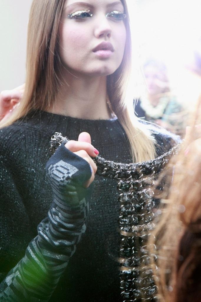 Backstage Chanel, F/W 2013/14 RTW