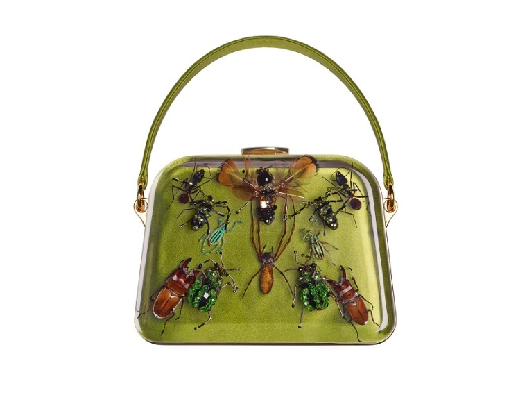 Entomology bag by Prada and Damien Hirst
