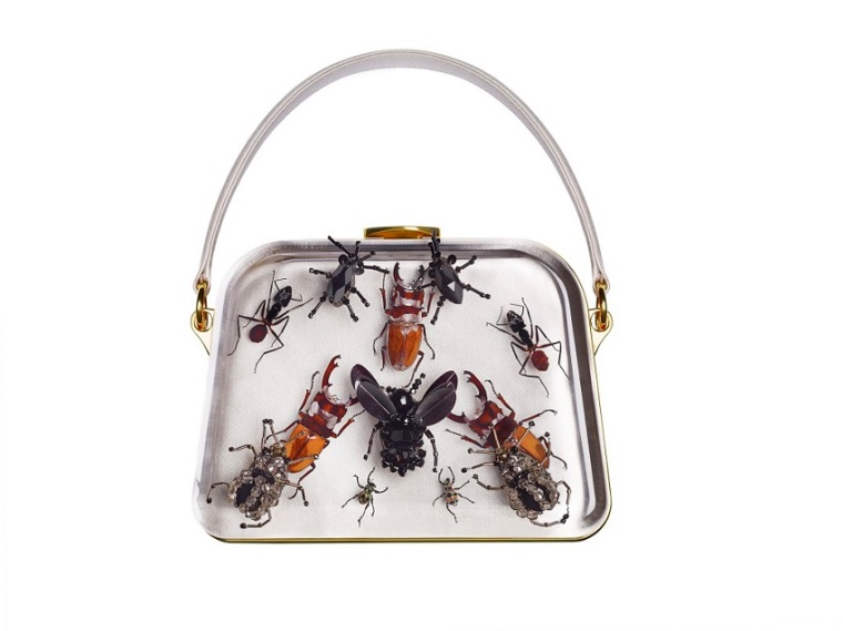 Entomology bag by Prada and Damien Hiris