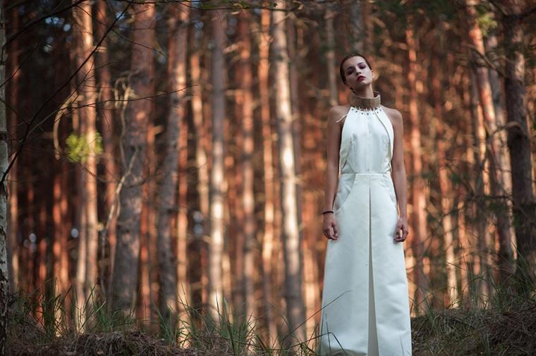 Luca Meneghel, dress Katarina Halasova
