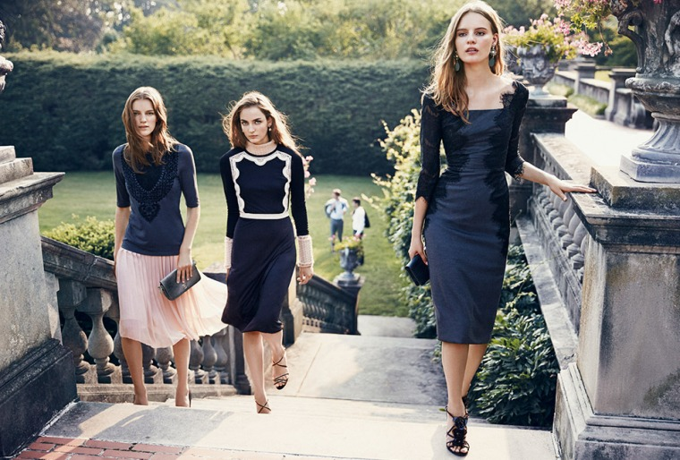 Tory Burch, lookbook holiday 2013 campaign