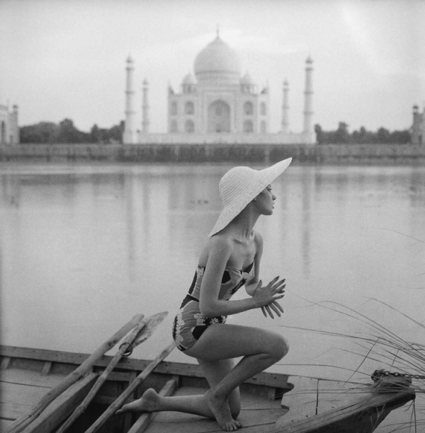 Giclee Print, Taj Mahal India, Vogue 1956, by Norman Parkinson