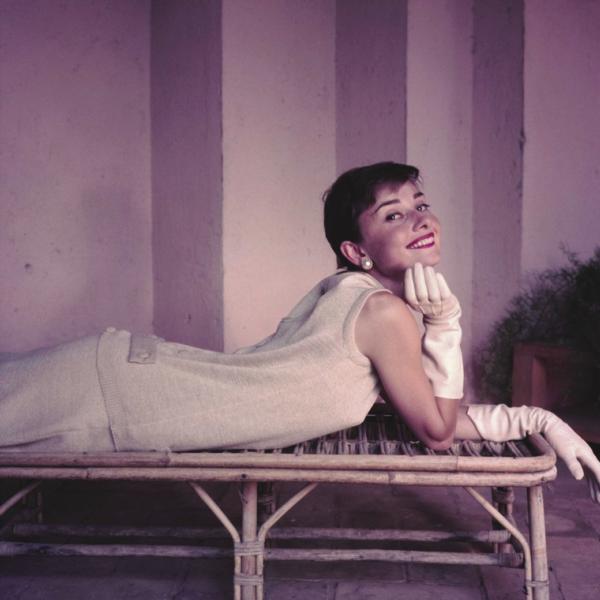 Audrey Hepburn, Italia 1950 by Norman Parkinson