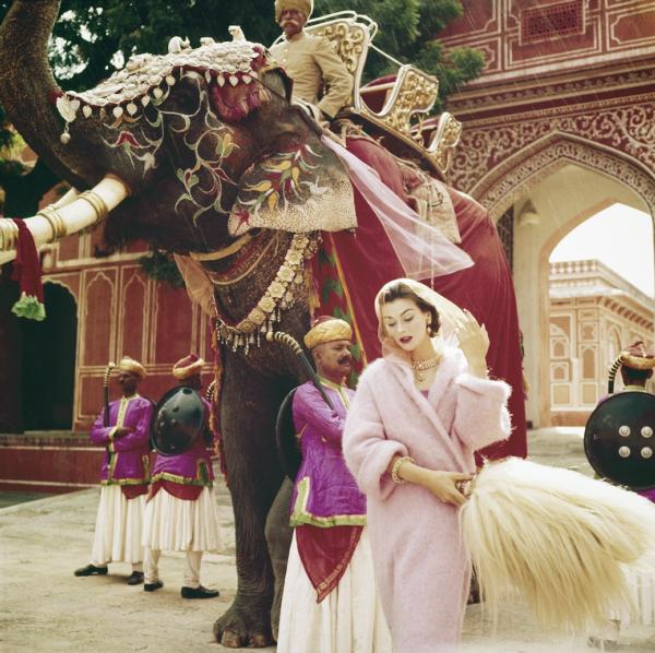 Anne Gunning, Jaipur, India, 1956
