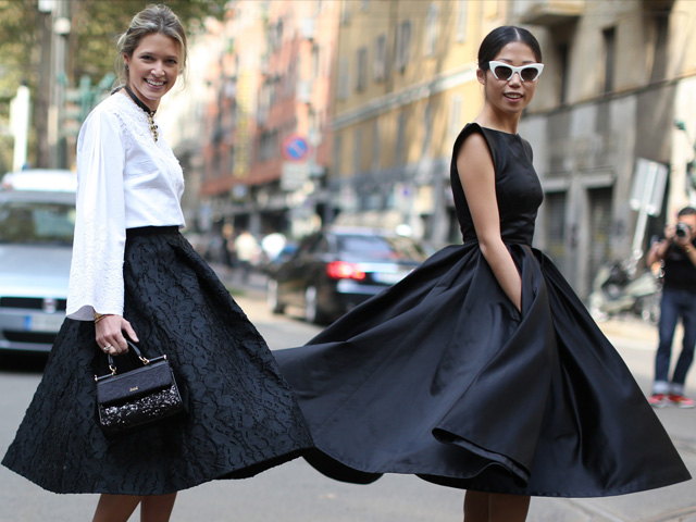 best service 9ad6b 9b0b3 Fashion trends | Autumn-Winter 2013| Gonne a ruota - The ...