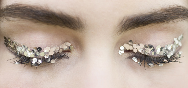 Chanel, Silver eye make-up, Autumn Winter 2013-14