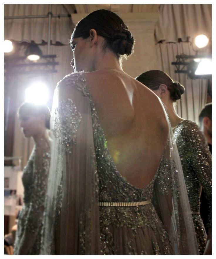 Elie Saab Haute Couture Backstage Autumn Winter 2013-14