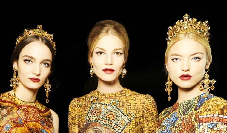 Dolce& Gabbana, Backstage Autumn- Winter 2013