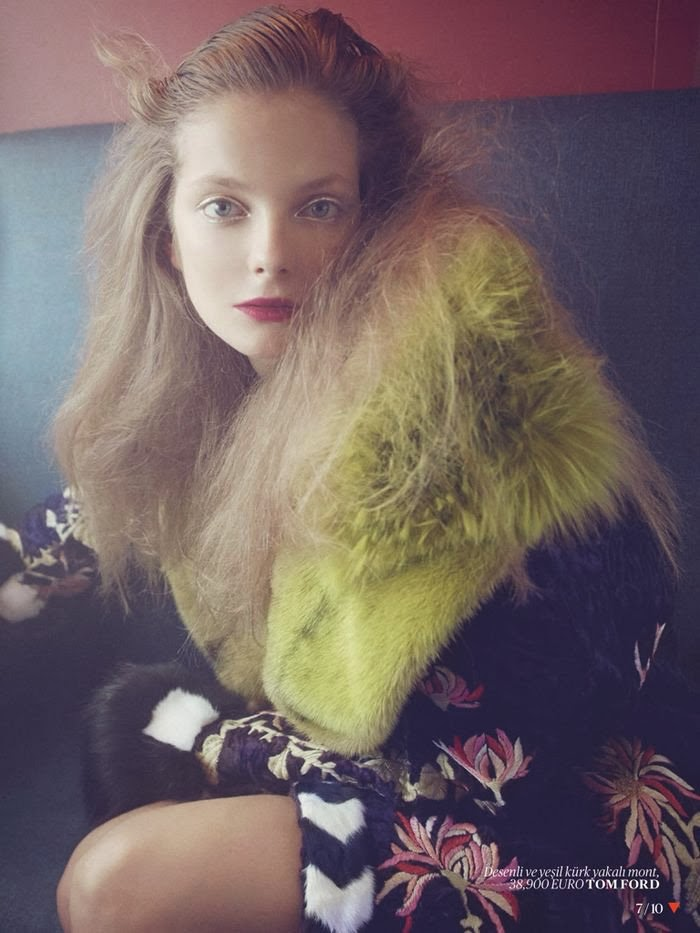 Eniko Mihalik for Vogue Turkey
