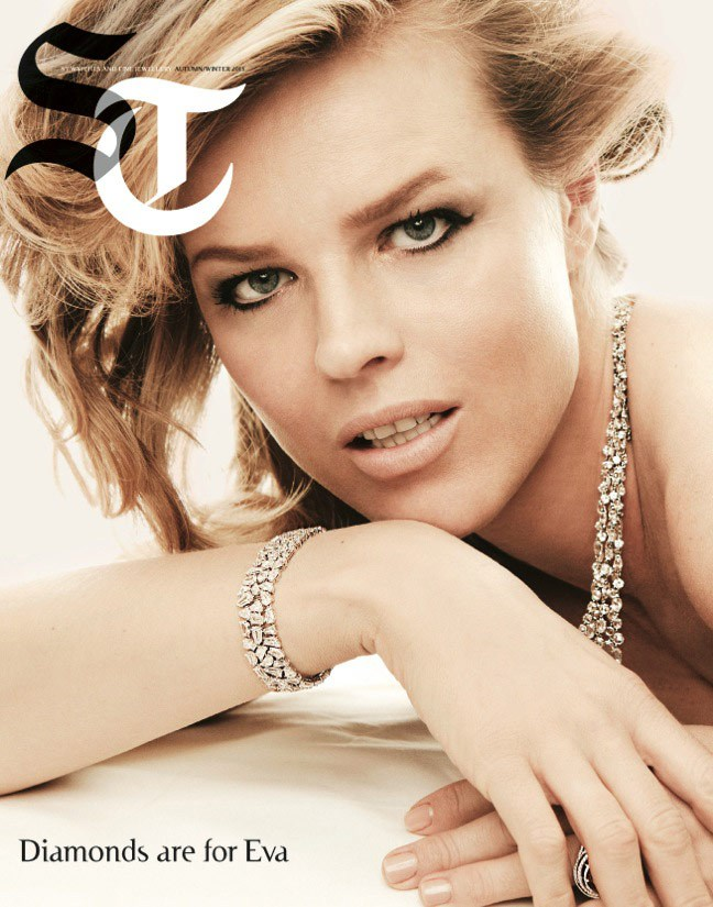 Eva Herzigova by Francesco Carrozzini for Sunday Telegraph Fall 2013