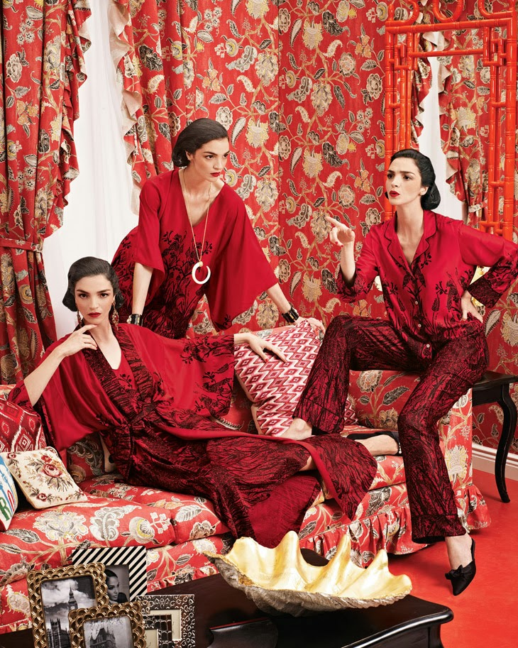 Fashion Colour Inspiration Red Passion Theglampepper