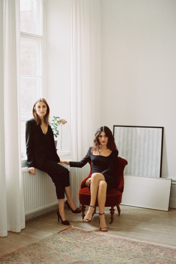 Giulia e GiorgiaTodini by Garance Doré for & Other Stories