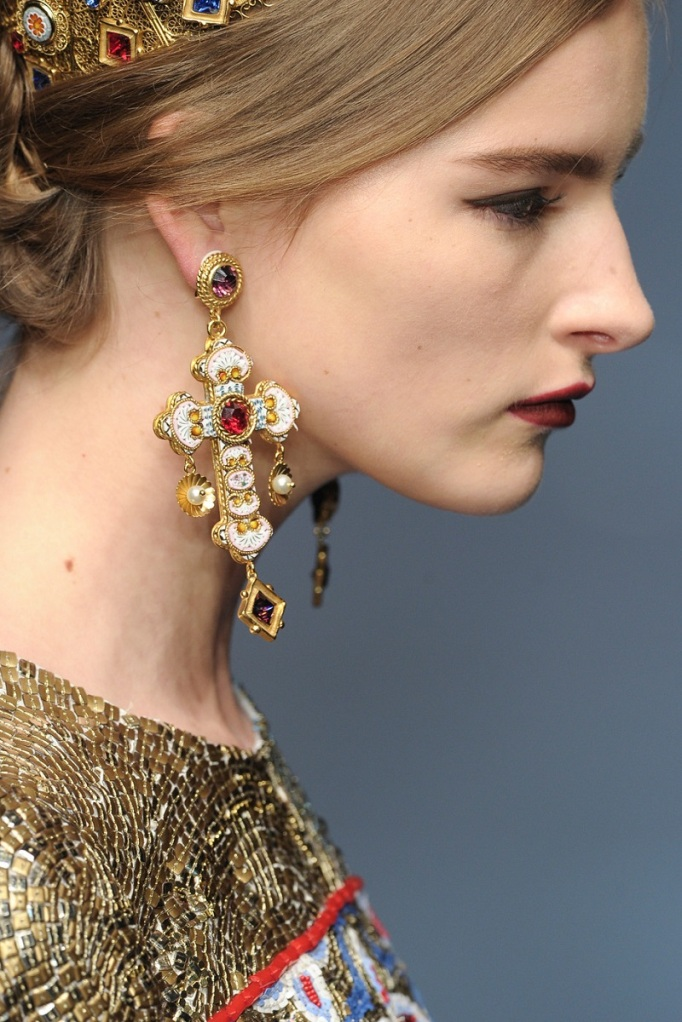 Dolce&Gabbana, Details, Fall-Winter 2013-14