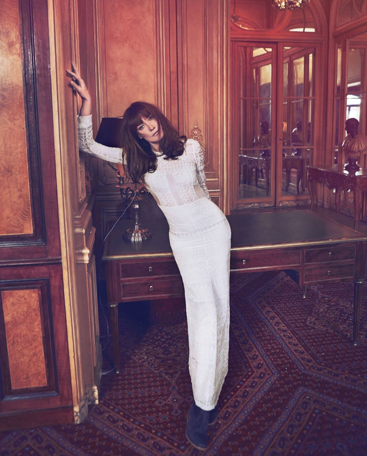 Carla Bruni Sarkozy for Th Edit by Net a Porter