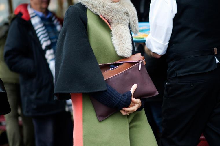 Steet style Paris Haute Couture