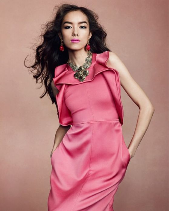 Fei Fei Sun, by Bjiorn Iooss for The Edit Magazine, by Bjiorn Iooss