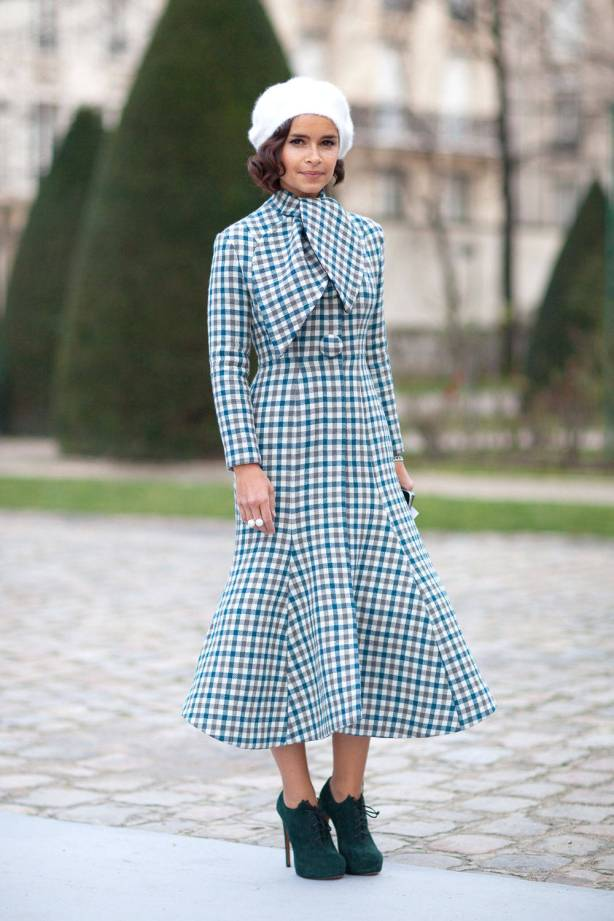 Miroslava Duma in Dior