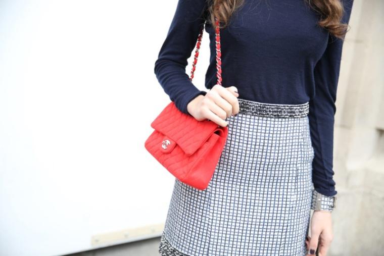 Chanel bag street style