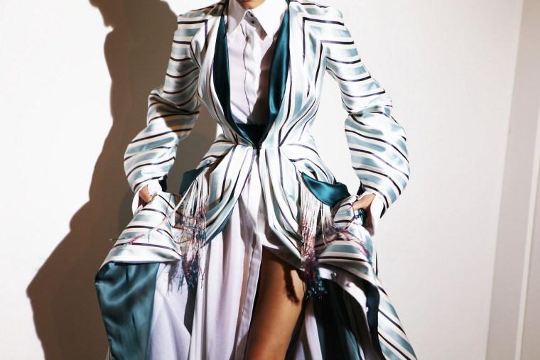 Ulyana Sergeenko Couture, Backstage Spring/Summer 2014