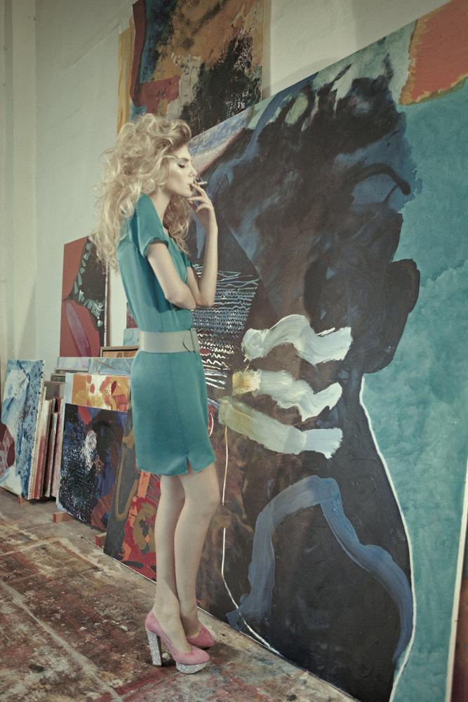 Yasmina M by Daniela Rettore for Bambi Magazine