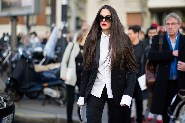 Street style, Paris Haute Couture