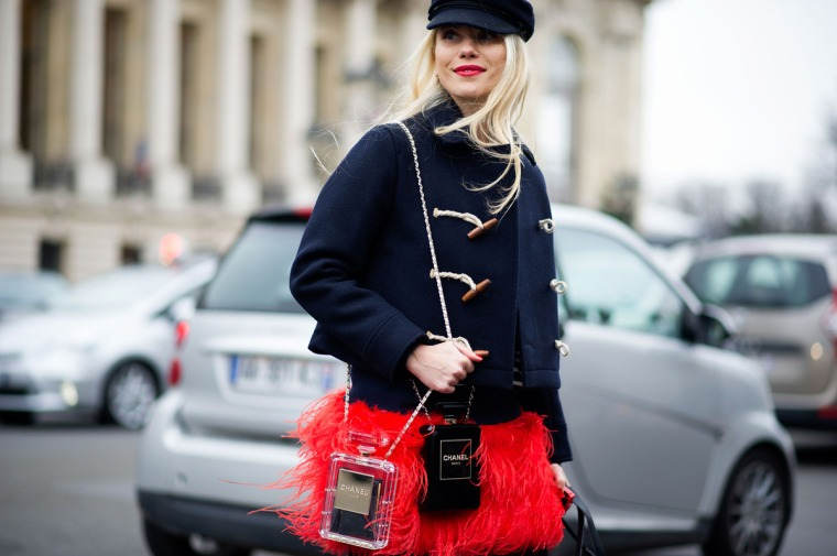Street style, Paris Haute Couture spring 2014