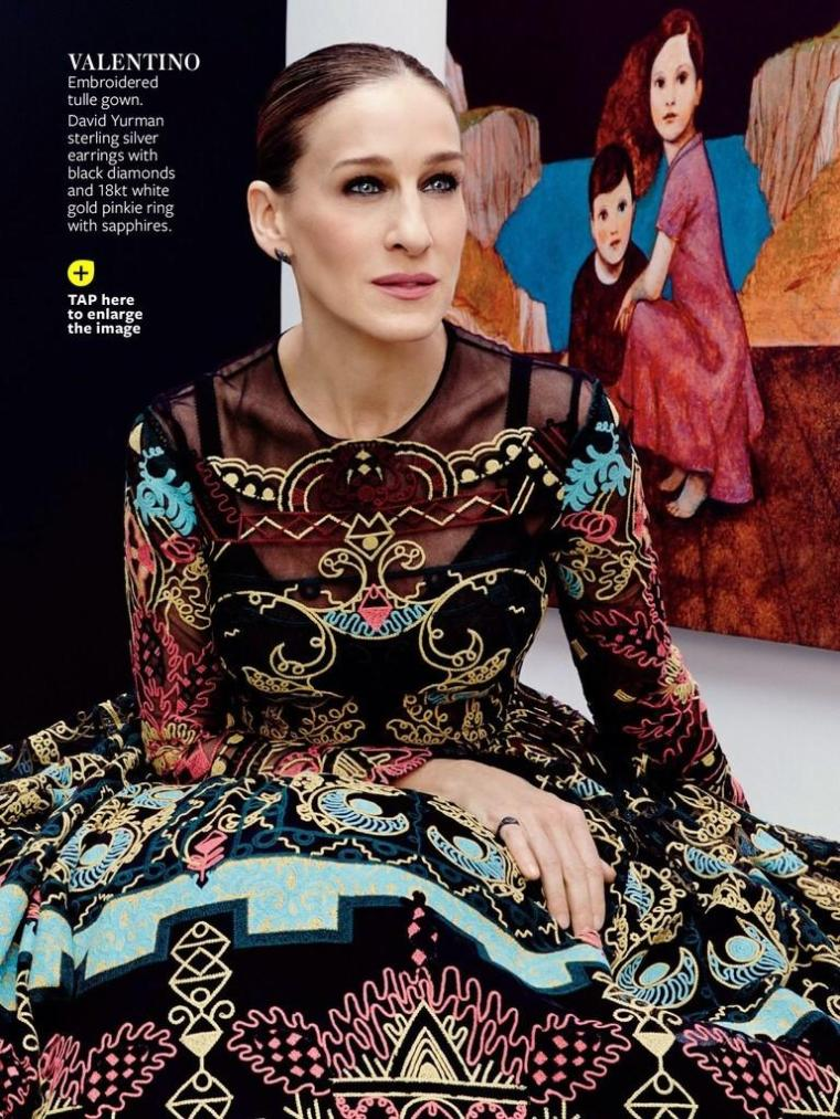 Sarah Jessica Parker by Gianpaolo Sgura for InStyle