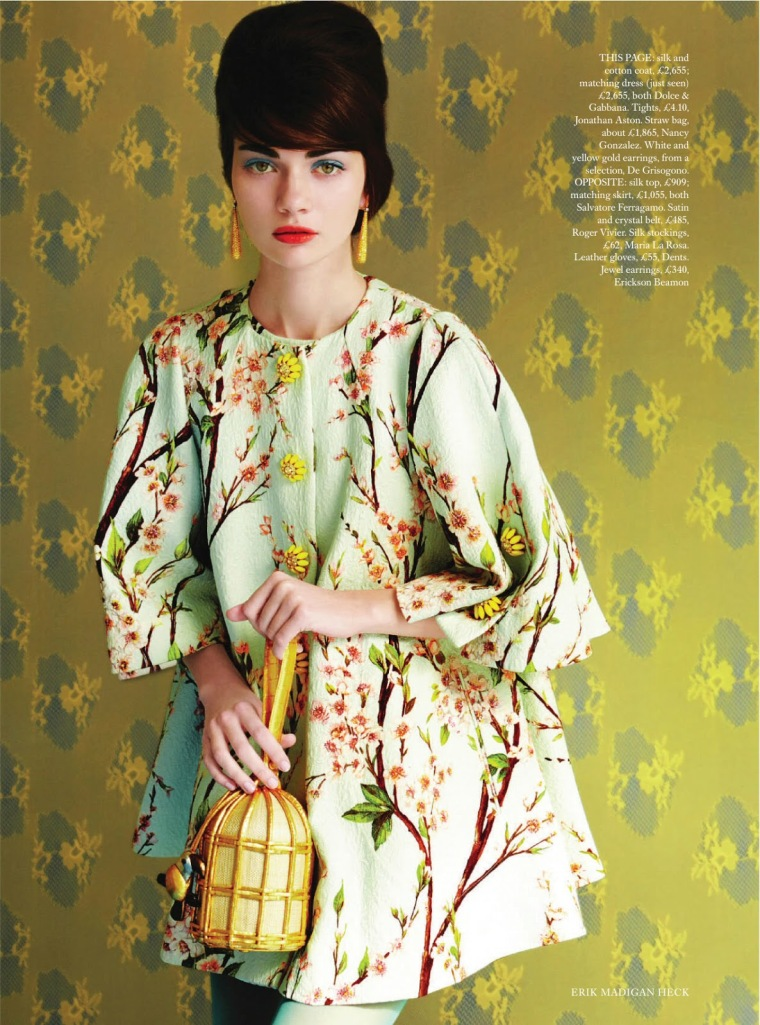 Antonina Vasylchenko by Erik Madigan Heck for Uk Harper's Bazaar